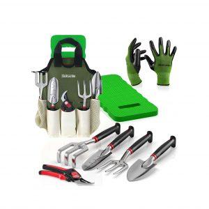 Sleek Garden 8-Piece Garden Tool Set