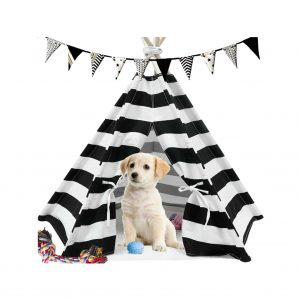 Ukaduo Dog Teepee Tent for Dogs