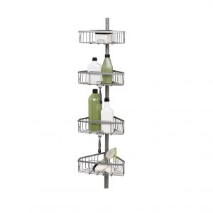 Zenna Home Tension Pole Shower Caddy