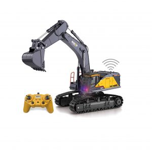 BNAM Remote Control Excavator Toy 22 Channel Rechargeable RC Truck