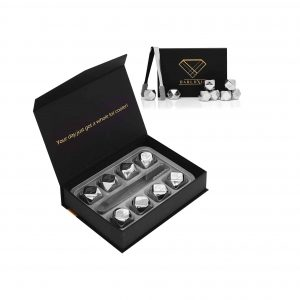 Barluxia Gift Set Stainless Steel Ice Cube