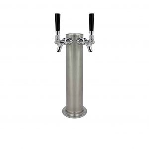 Kegco DT145-2BS-ASC Stainless Steel Beer Tower