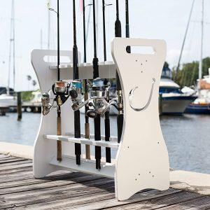 SEA Quality Fishing Rod Rack