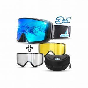 Athletrek Ski & Snowboard Goggles