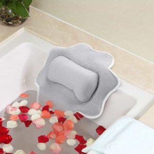 Fuloon Bath Pillow, Machine Washable