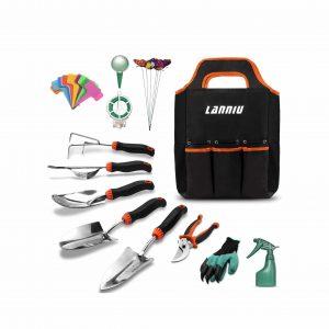 LANNIU 27-in-1 Garden Tool Set