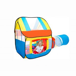PlayO Children's Play Tent with Crawling Tunnel