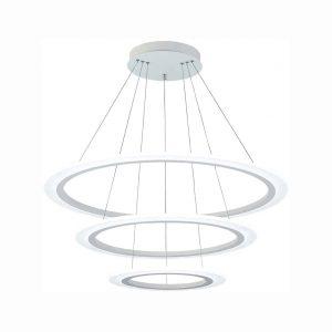Royal Pearl Modern 3 Ring LED Chandelier