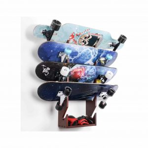 XCSOURCE Skateboard Rack