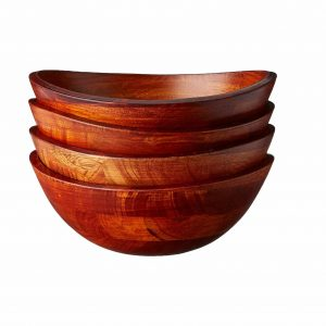 Lipper International 293-4 Rim Serving Bowls