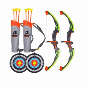 MorTime 2 Pack Bow and Arrow Set