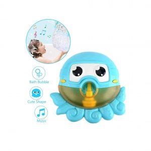 Secketon Bath Toys Bubble Machine for Kids