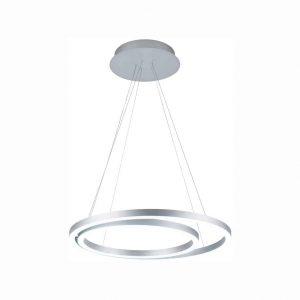 WELAKI LED Modern Pendant Light 2 Rings