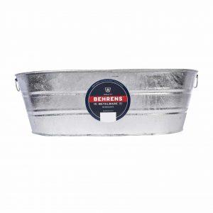 Behrens Oval Shape Galvanized Steel Tub
