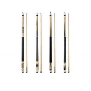 FADAZAI Set of 4 Pool Cues Stick