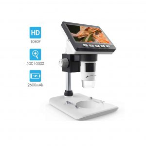 SKYBASIC LCD Digital Microscope 4.3 Inches 50X to 1000X Magnification