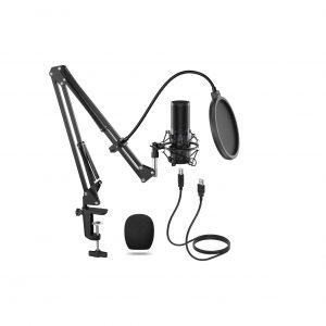 TONOR USB Microphone Kit Q9 Condenser Computer Cardioid Mic