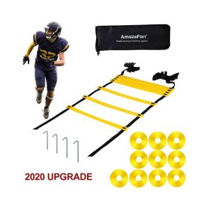 21ft Adjustable Agility Ladder