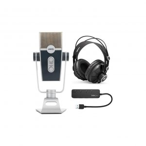 AKG Lyra C44-USB Ultra-HD Microphone Bundle