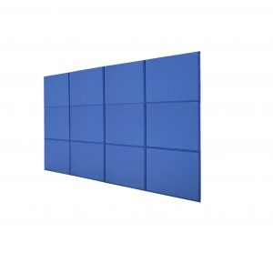 BQLZR Fiberglass Acoustic Soundproof Tiles