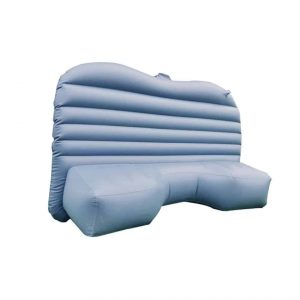 Lameila Car Travel Inflatable Mattress Flocking Air Bed