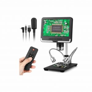 Seesii Handheld Digital Microscope 7 Inch LCD Display