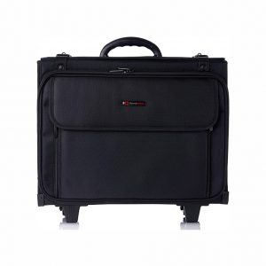 Alpine Swiss 17 Inches Rolling Briefcase