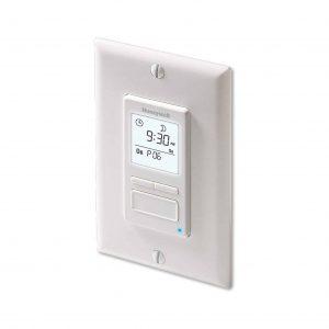Honeywell RPLS740B1008 Econoswitch 7-Day Light Programmable Switch Timer
