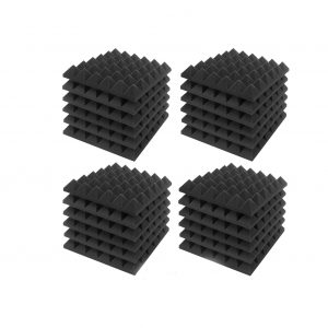 JBER Acoustic Sound Foam Panels, 24 Pack