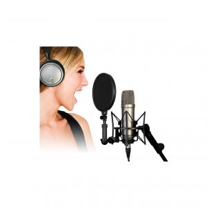 Rode NT1-A Vocal Cardioid Condenser Microphone Package