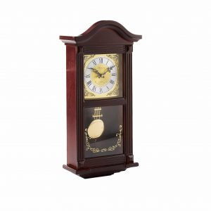Bedford Clock Collection Small Wood 4 Chimes