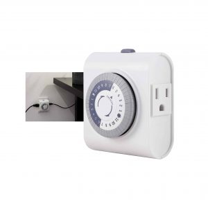 GE 24-Hour Plug-in Programmable Timer