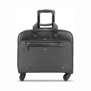 SOLO New York 4 Wheels Rolling Briefcase