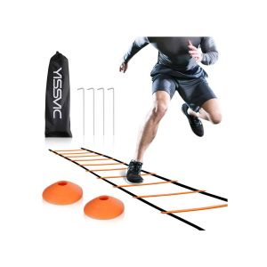 YISSVIC Agility Ladder and Cones