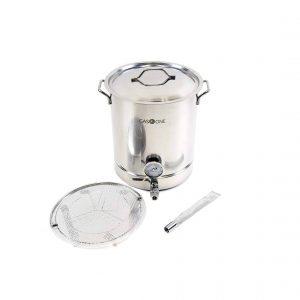 GasOne 10 Gallon Stainless Steel Brew Kettle
