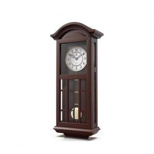 Lovely Home Essentials Pendulum Wall Clock Quartz Pendulum Wood Clock