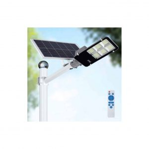 WisHome 300W LED Solar Street Lights with Remote Control Waterproof