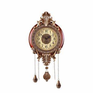 Aero Snail Large Retro Style Vintage Pendulum Wall Clock