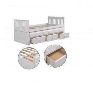 Shining Captain's Bed Twin Daybed
