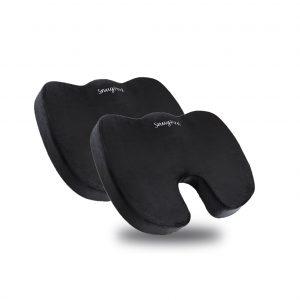 SnugPad Non-slip Memory Foam Seat Cushion