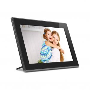 Aluratek Touchscreen IPS Digital Picture Frame