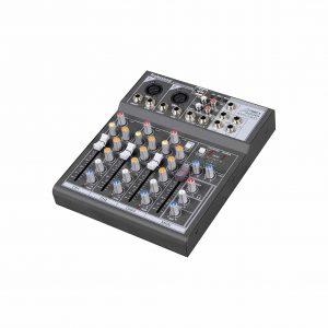 Audio2000'S AMX7303 4-Channel Audio Mixer