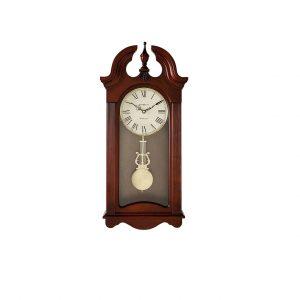 Howard Miller Malia Wall Clock Cherry Wood with Quartz