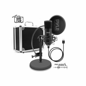 UPyle SB Microphone Podcast Recording Kit
