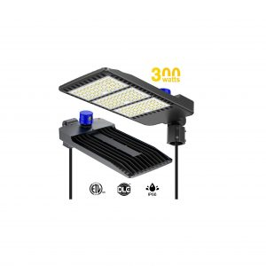 YICOB 300W Parking Lot Lights 5000K IP66 Commercial LED Light