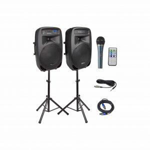 Knox Dual 15″ Speakers, 600 Watt