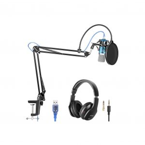 Neewer USB Microphone with Studio Headphones