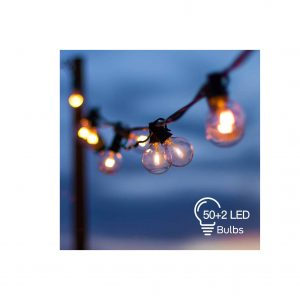 OxyLED 54FT Hanging Globe String Lights