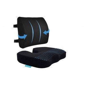 Qutool Memory Foam Coccyx Seat Cushion