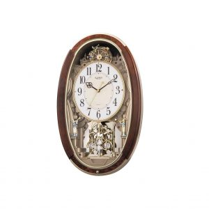 Rhythm Clocks Trumpet Boy Pendulum Musical Motion Clock